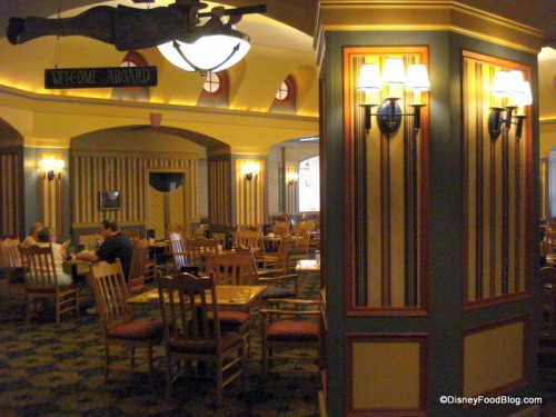 Captain's Grille Seating