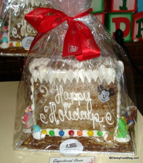Beach Themed Gingerbread House: 2012 Walt Disney World Gingerbread Holiday Displays