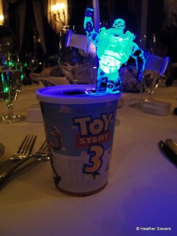 Buzz Lightyear Glowing Character Punch