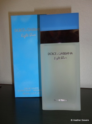"Dolce & Gabana ""Light Blue"""