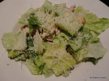 Traditional Ceasar with Grilled Chicken