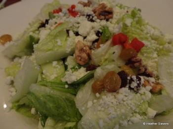 Blue Cheese Apple Walnut Salad