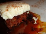 Carrot Cake Cross Section