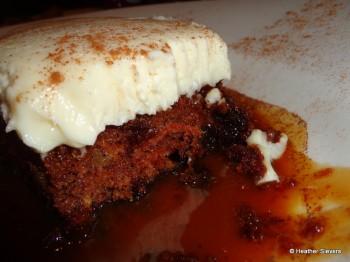 Carrot Cake Cross Section