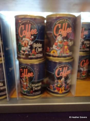 Pack of 4 Flavored Coffees: Holiday Cheer, Egg Nog, Cinnamon Pecan & Vanilla