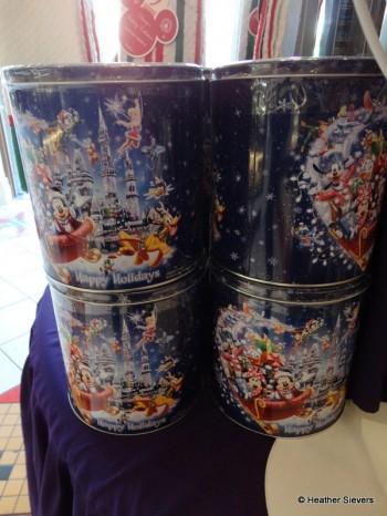 Holiday Popcorn Tins