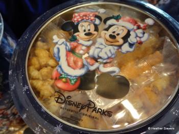Popcorn Tin Top View