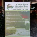 Dining in Disneyland: Special Menu Event at Ralph Brennan's Jazz Kitchen