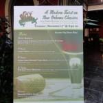 Dining in Disneyland: Special Menu Event at Ralph Brennan's Jazz Kitchen