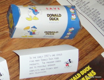 Donald Duck Bread & Food Program Information