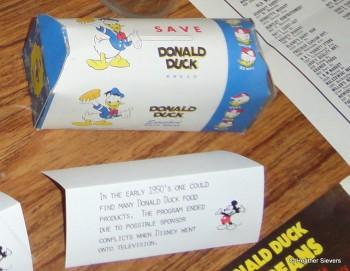 Donald Duck Bread & Food Program Information