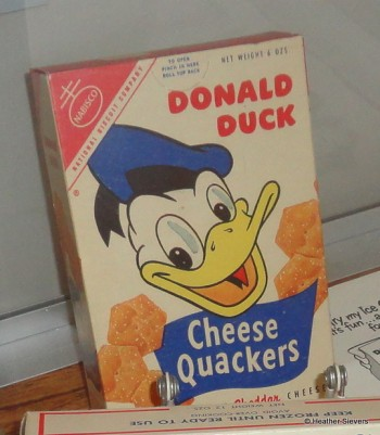 Nabisco Cheese Quackers Close Up