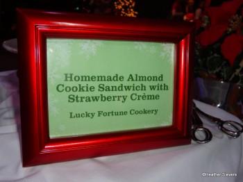 Almond Cookie Sandwich Signage