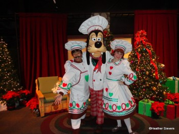 Chef Goofy and Bakers