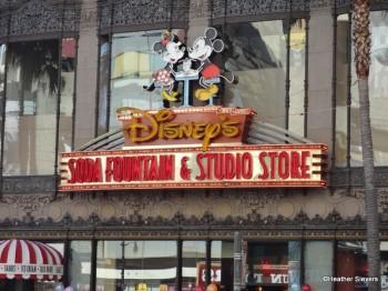 Disney's Soda Fountain in Hollywood