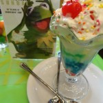 "First Look!: Disney's Soda Fountain Muppets ""Rainbow Connection"" Sundae"