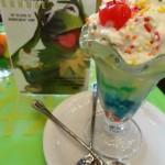 "First Look!: Disney's Soda Fountain Muppets ""Rainbow Connection"" Sundae"