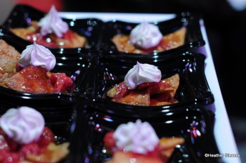 Sweet Dulce de Leche Dessert Nachos with Fruit Topping from Cocina Cucamonga