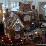 2012 Walt Disney World Gingerbread Holiday Displays