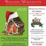 Dining in Disneyland: Ralph Brennan's Jazz Kitchen Gingerbread House Workshop