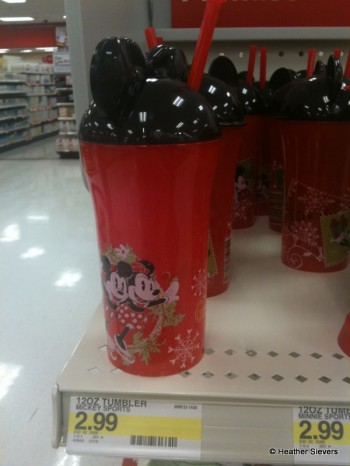 12 oz Tumblers Topped with Mickey Ears