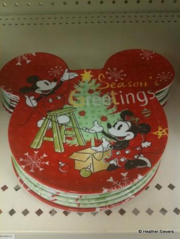 Mickey Shaped Small Plates