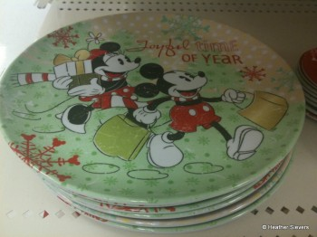 Small Mickey & Minnie Plates