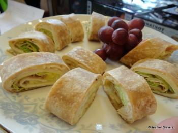 Turkey Wrap Platter