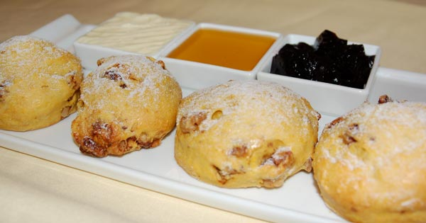... : Pumpkin Biscuits with Spiced Candied Walnuts | the disney food blog