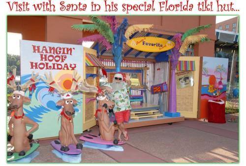 Santa's Tiki Hut
