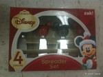 Set of 4 Mickey Spreaders