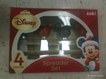 Set of 4 Mickey Spreaders