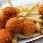 Review: Spicy Chicken and Cheddar Poppers at Epcot's Refreshment Port