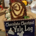 Dining in Disneyland Review: The Yule Log