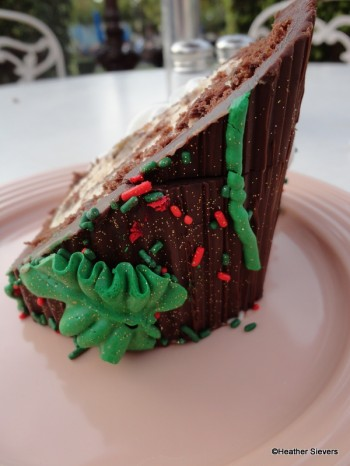 Yule Log Side View