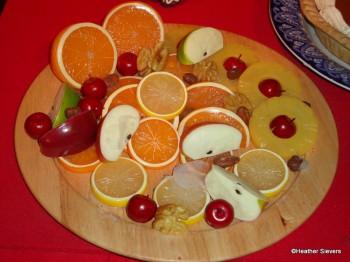 Fruit & Nut Platter