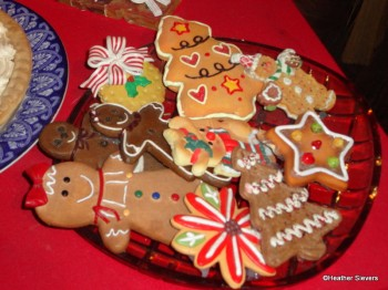 A plate of fun cookies!