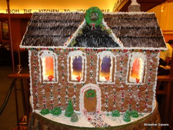 Storytellers Cafe Gingerbread House