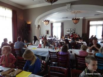 Gingerbread House Workshop Seating