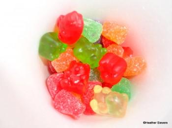 Gummy Bear & Gum Drops Close Up