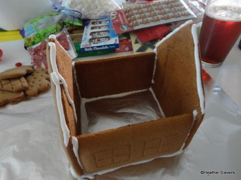 Step 5: Frosting the House to Add the Roof