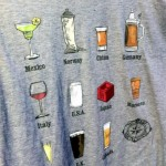 New! Epcot World Showcase Drinks and Eats T-Shirts