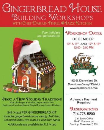 Gingerbread House Workshop Information