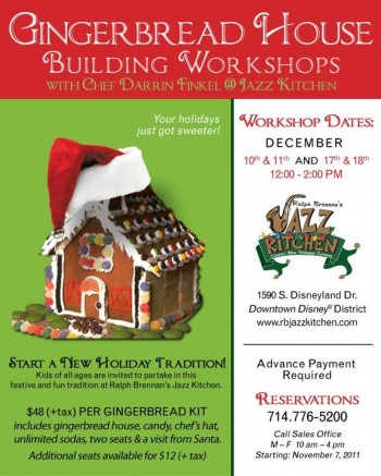 Gingerbread House Workshop Information