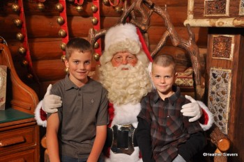 My Boys with the Big Man: I'm enforcing this tradition for at least 18 years!