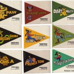 Disney Food History: Wonder Bread College Pennant Stickers