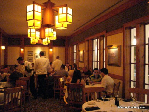 One of the Yachtsman Steakhouse Dining Areas