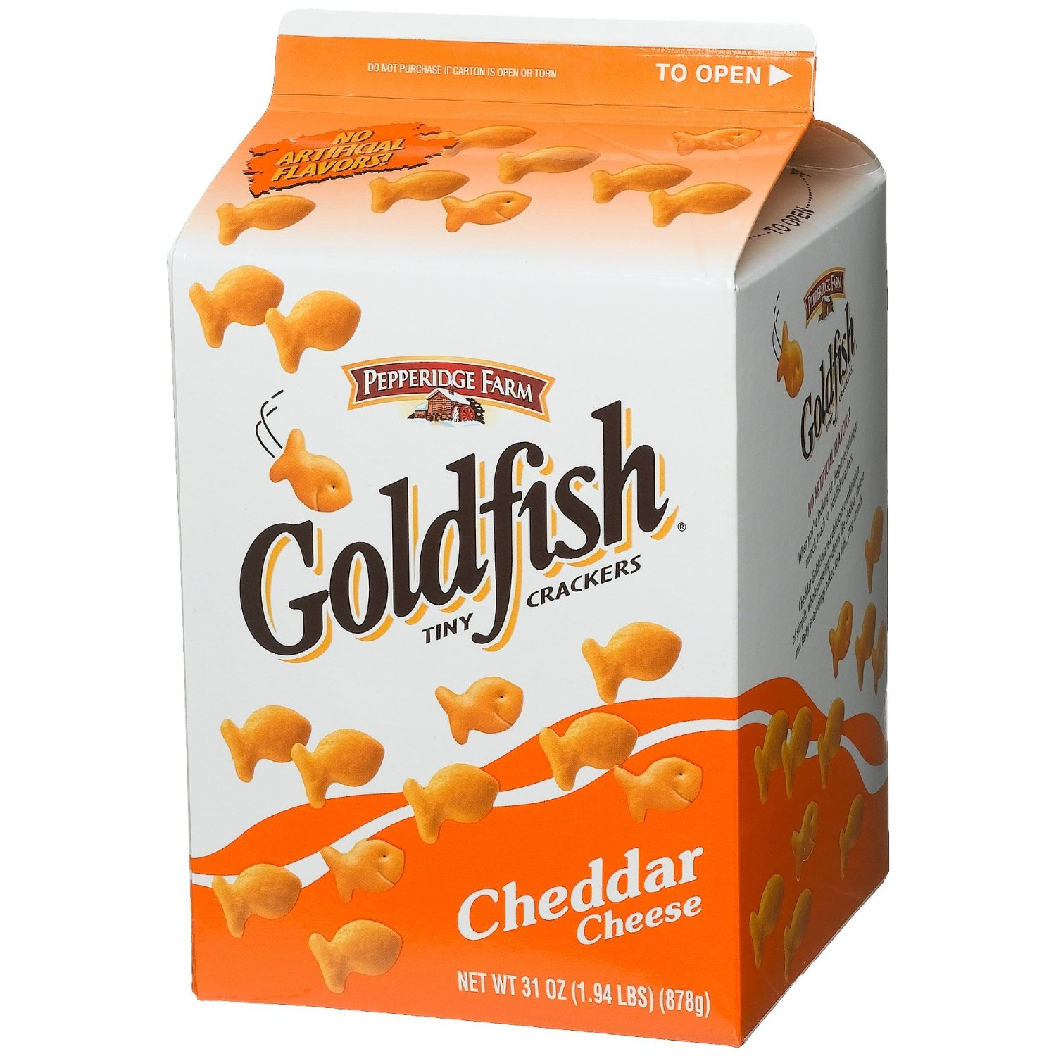 Tips from the dfb guide five beloved food items you won t for Gold fish snacks
