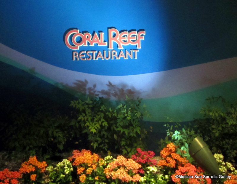 underwater restaurant disney world. Coral Reef\u0027s Exterior Signage May Be Hard To Find, But It\u0027s Worth Looking Underwater Restaurant Disney World H