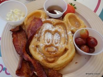 Mickey Shaped Waffle
